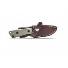 AM-3 Knife with Leather Sheath (Right Handed)