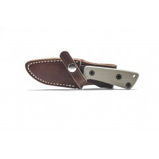 AM-3 Knife with Leather Sheath (Left Handed)